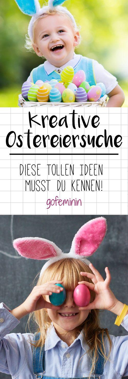 Ostern steht vor der Tür. Wir zeigen euch ein paar kreative Ideen, mit denen das Osterfest mit dem Nachwuchs noch schöner wird!