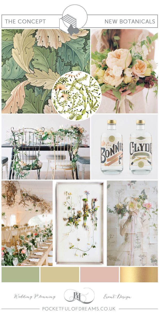 Botanical Wedding Inspiration by Pocketful of Dreams | Love My Dress® UK Wedding Blog