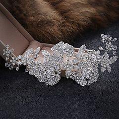 Women's Alloy / Imitation Pearl Headpiece-Wedding / Special Occasion / Casual Tiaras / Headbands 1 Piece – GBP £ 52.46