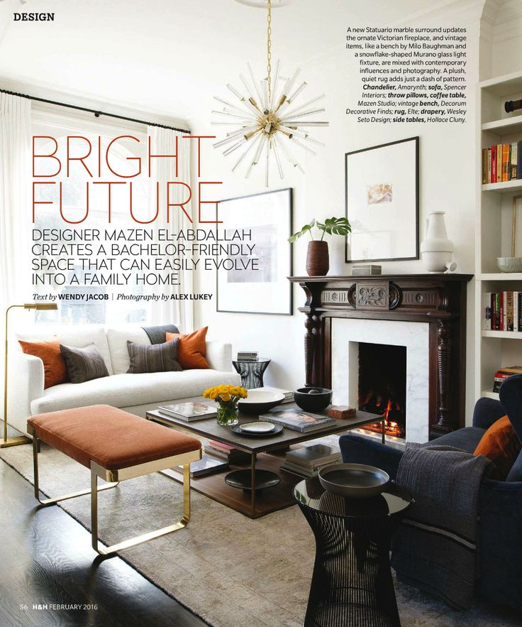 Marvelous I Recently Came Across This Chic, Tailored Toronto Townhouse In The  February Issue Of Canadian Good Ideas