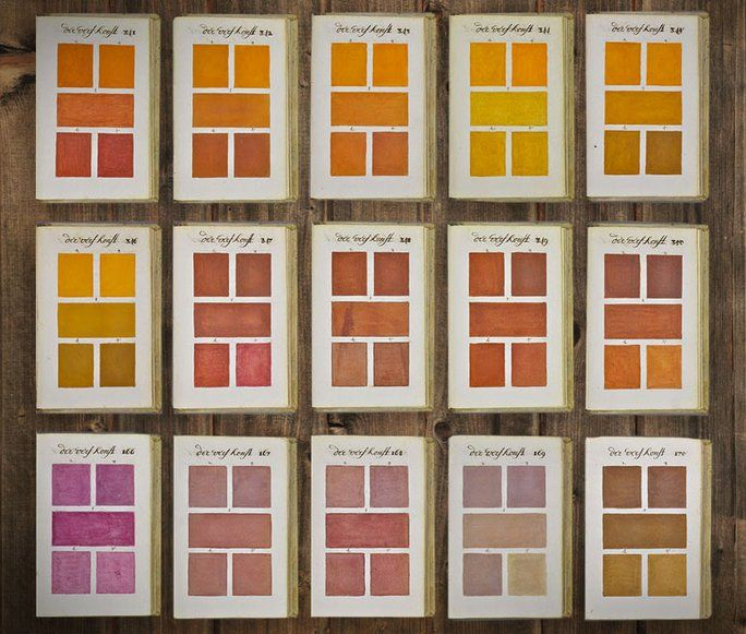 Best Boogert Color Palette Year Images On Pinterest - This 800 page book listed every colour imaginable 271 years before pantone