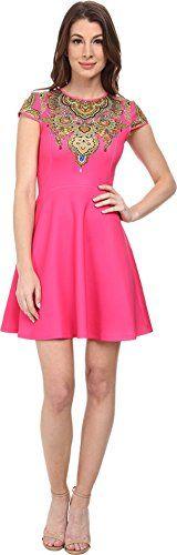 TED BAKER Ted Baker Women'S Marliza Jewel Paisley Neoprene Dress. #tedbaker #cloth #