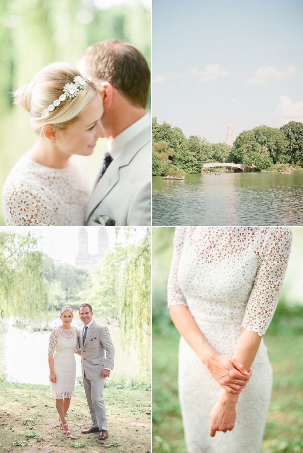 Simple, Chic Central Park Wedding – Style Me Pretty