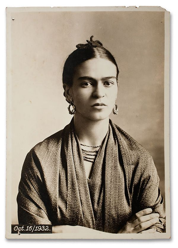 Oct.16/1932  Guillermo Kahlo, Frida at four stages of her life, 1932.  Courtesy the Frida Kahlo Museum and Artisphere.