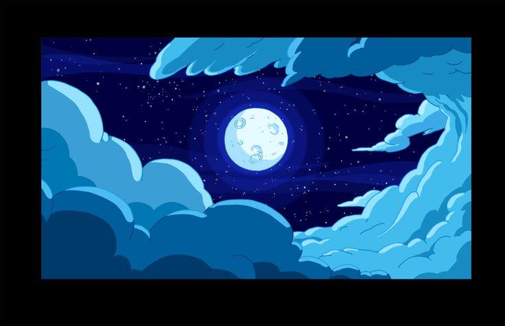 Adventure Time Background Art