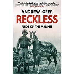 Reckless was a remarkable war-hero. Born and raised in Korea, Reckless was flame-red, bred from a prize-winning race-horse, and discovered by American soldiers during the Korean War.  The battalion of US Marines Reckless was assigned to fell in love with her at once, feeding her Coca Cola and beer as she became one of the guys. Not only did she boost morale, but she saved lives as well, and she was posthumously awarded the Dicken Medal for her bravery during active service.  Sergeant…
