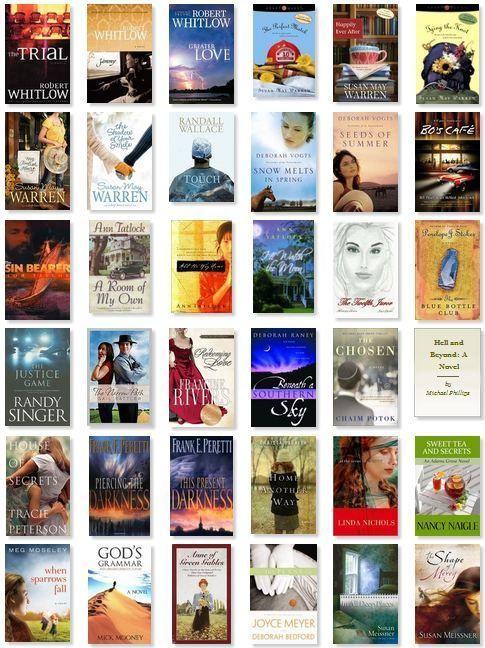 My Favorite Christian Fiction Books