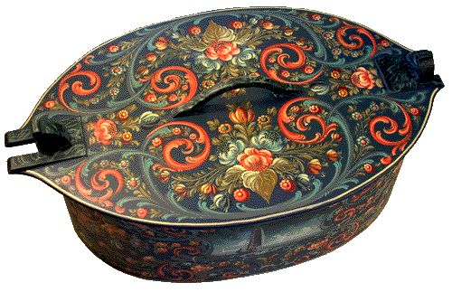 Norwegian Rosemaling | What type of art of Norway?