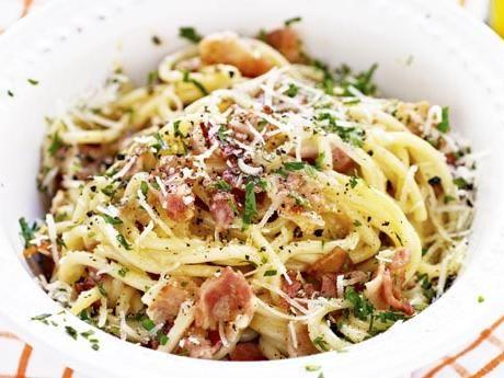 Spaghetti alla carbonara Receptbild - Allt om Mat