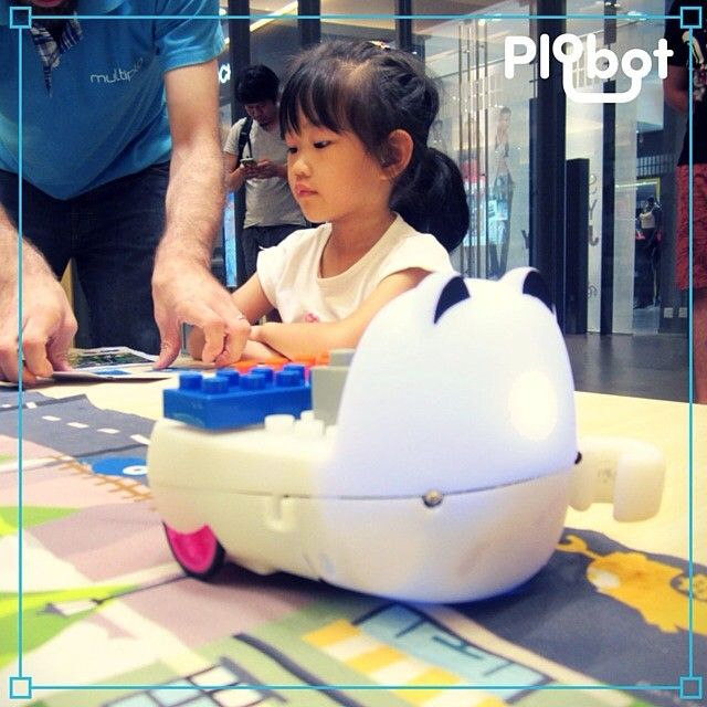 Plobot is here! The fun way to teach programming.
