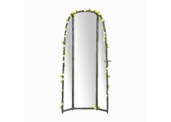LEDs Clay Dressing Mirror by Bertjan Pot - Floor Lamps - Lighting - Products