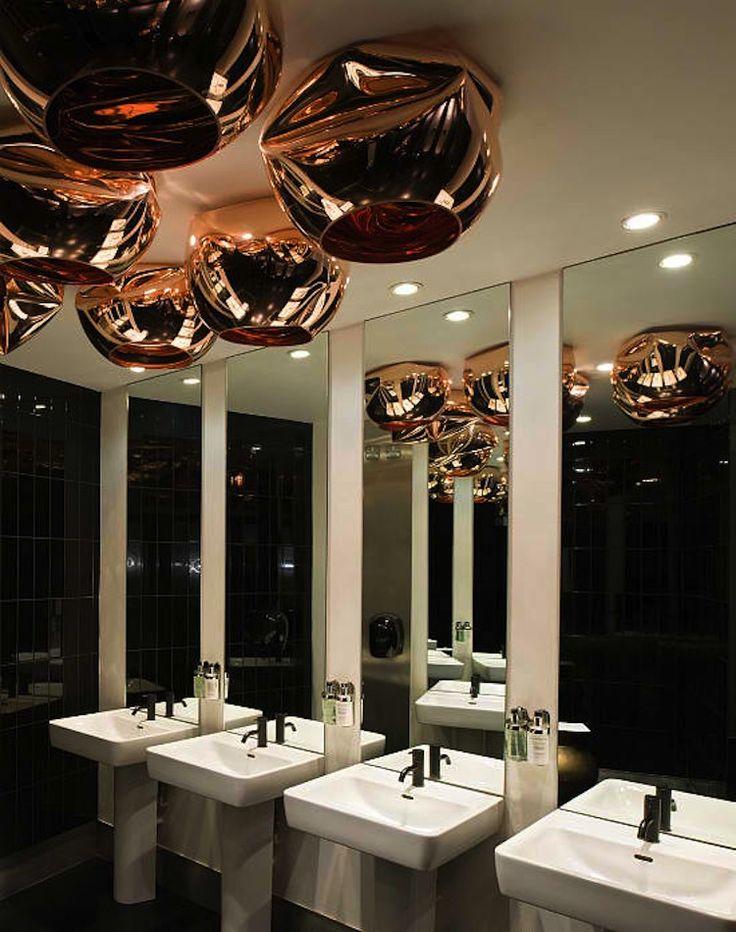 Modern Bathroom Design Of Barbecoa Restaurant By Speirs Major: Restaurant  Bathroom Design