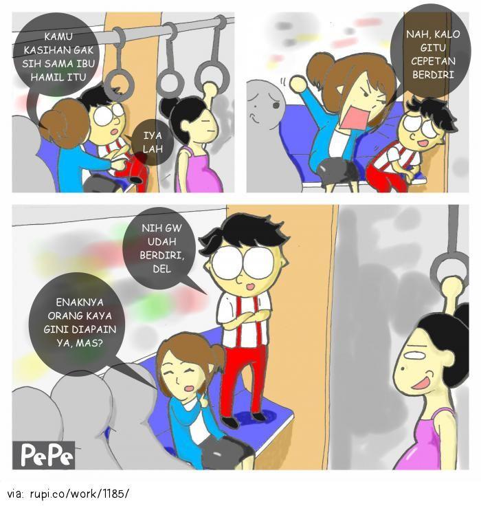 gak peka - Rupi - Social Comic Strip @rupidotco