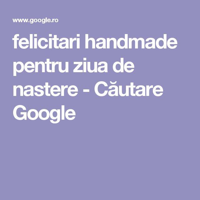 felicitari handmade pentru ziua de nastere - Căutare Google