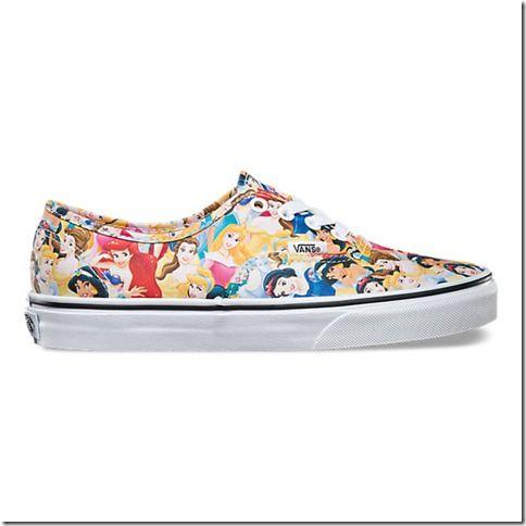 Disney Princess VANS! I want these please!