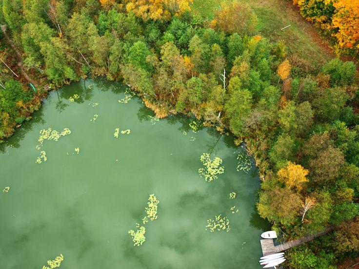 Jezioro Płociczno w Zełwągach