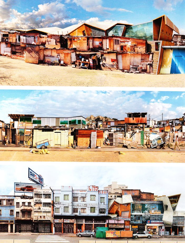 Favelas and informal settlements everywhere prove that everyone is an architect, communities are architects, or a place can be a community of architects.