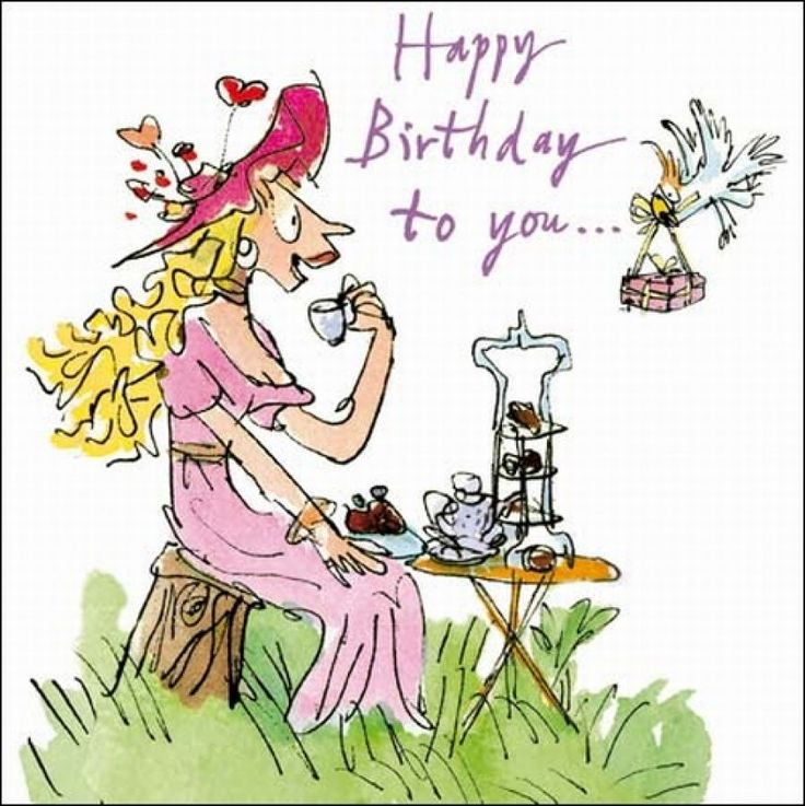 27 Best Images About Quentin Blake Illustrated Birhtday