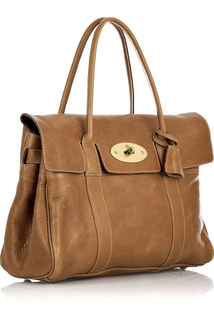 Yeah I want it in this colour, too... *sigh*  Mulberry | Bayswater leather bag | NET-A-PORTER.COM #fashion #bag #mulberry
