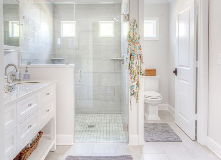 before and after, bathroom remodel, bathroom renovation, bathroom design, bath interior design, bath design, bathroom redo, white bathroom, grey bathroom, home decorators vanity, home decorators, moen banbury, randy hines construction, nicki pasqualone, vero beach interior designer, interior designer