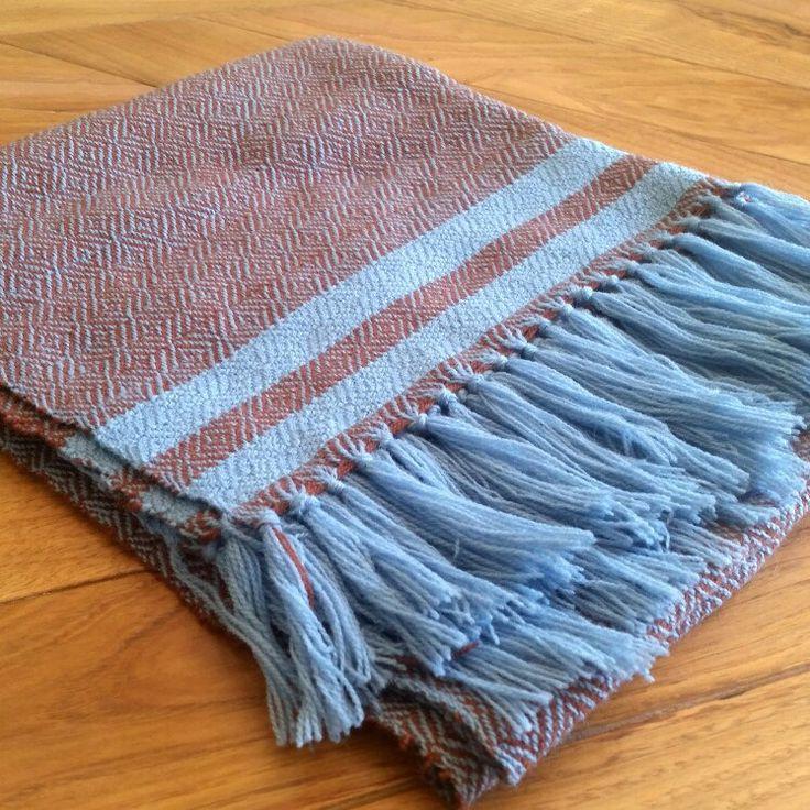 Handwoven viking shawl, ready for shipping