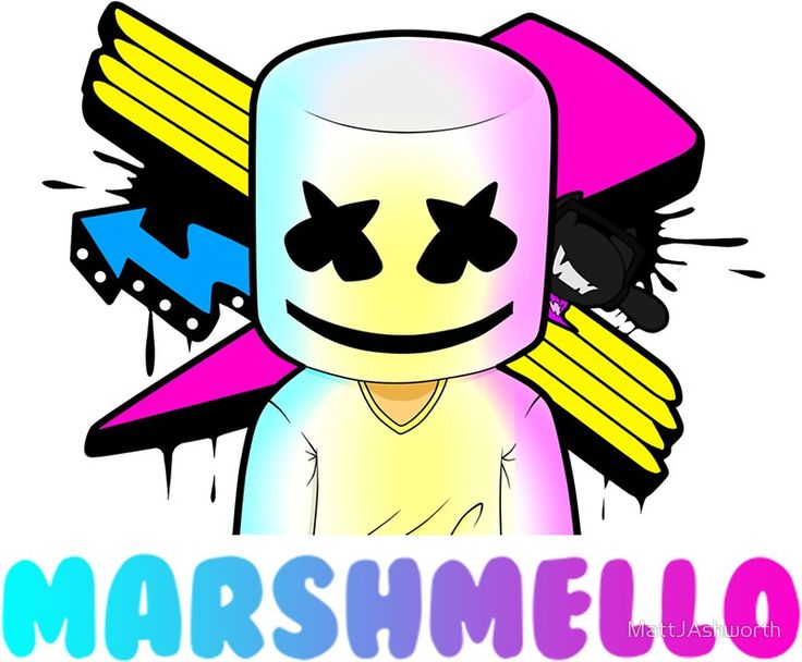 It is a photo of Sweet Marshmello Coloring Pages