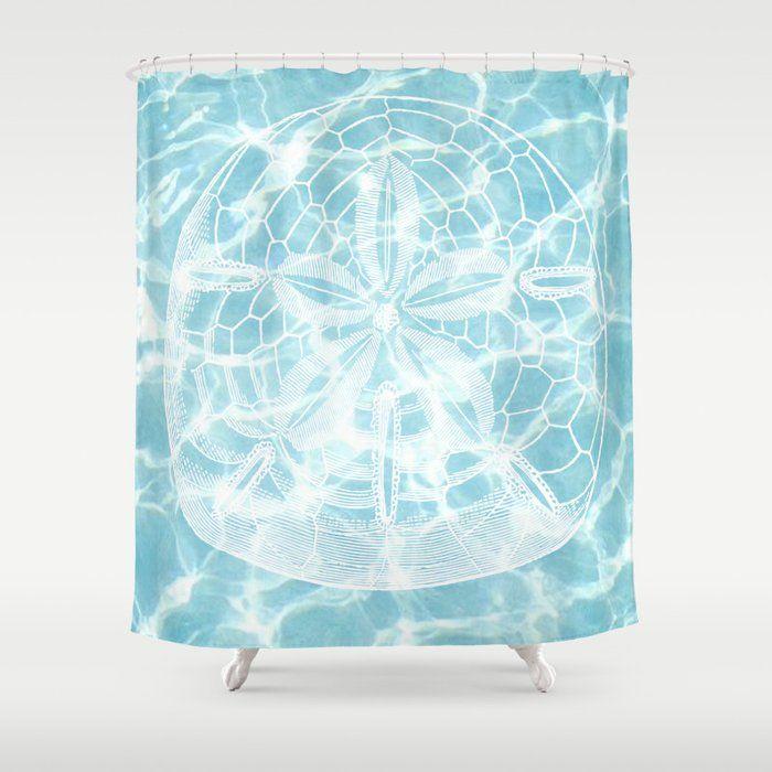 Sand Dollar Shower Curtain By Klephotographync Society6 Shower