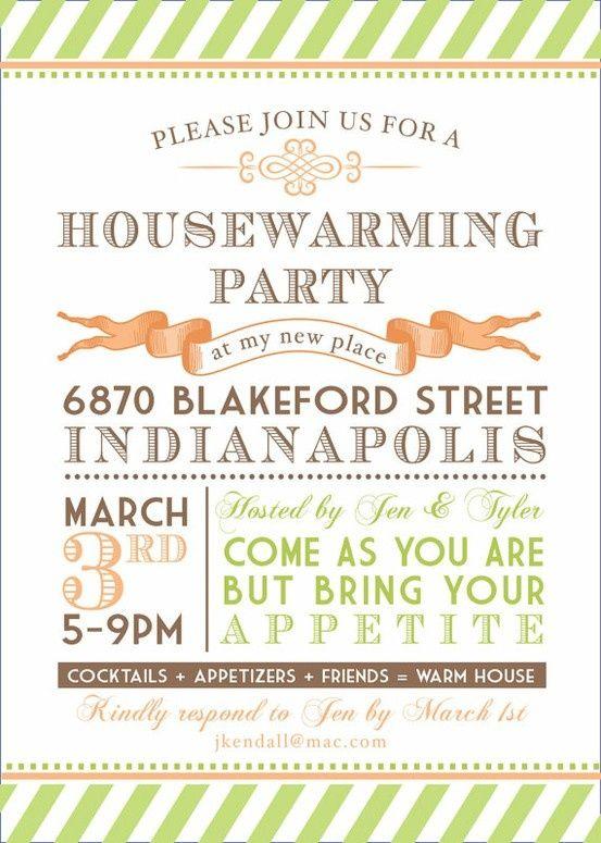92 best Housewarming images on Pinterest Birthdays, Ideas para - housewarming invitations templates