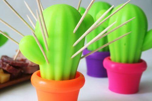 cactus palillero, porta escarbadientes. Lo quiero hacer en porcelana fría! !