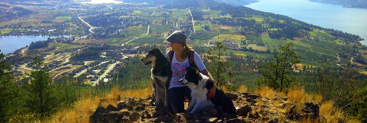 You have to love this pic of Kelowna's Trail Savvy Columnist