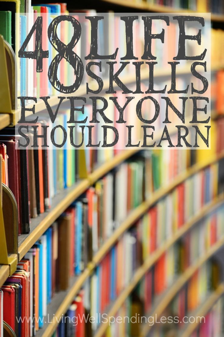 Do you have the skills it takes to be an adult? It's easy to get so wrapped up in all the must-dos and should-dos of life that we don't always take the time to consider whether we are really the kind of person we want to be. Don't miss this massive list of the 48 life skills EVERYONE should learn--which ones do you still need to work on? via Living Well Spending Less