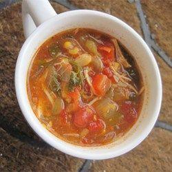 Chicken Enchilada Slow Cooker Soup  - Allrecipes.com