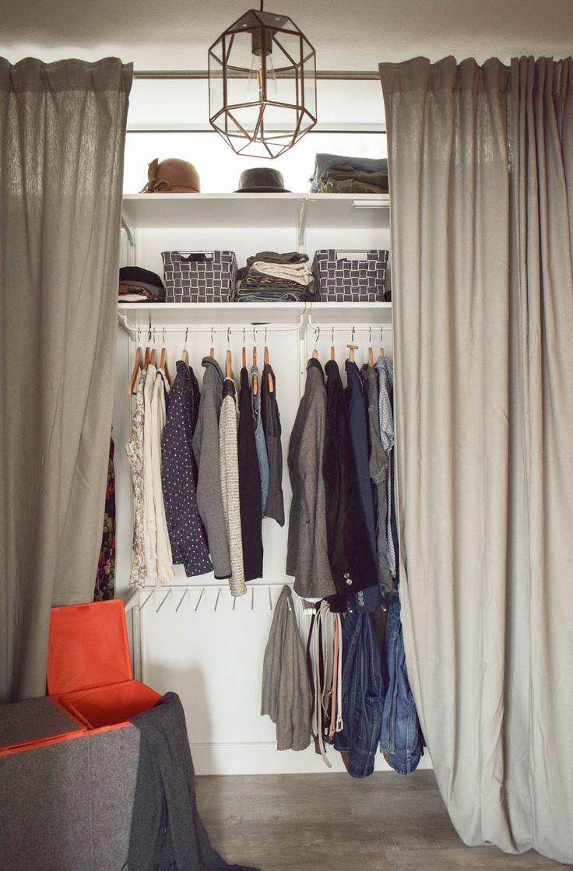 Flexibler Kleiderschrank. Praktische Aufbewahrung …