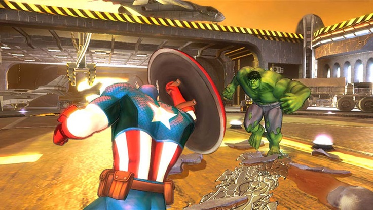 Marvel Avengers: Battle for Earth Demo Released    The game features 20 different characters, including Black Widow, Captain America, Doctor Strange, Doctor Doom, Hawkeye, Hulk, Iceman, Iron Man, Loki, Magneto, Nightcrawler, Spider-Man, Spider-Woman, Storm, Super-Skrull, Thor, Venom, Vision, and Wolverine. Each character has four unique super powers.