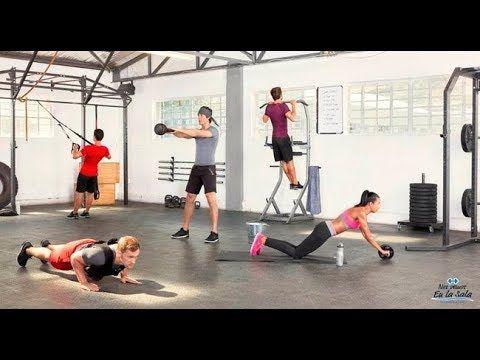 Entrenamiento Full Body con una Silla- HogarTv por Juan Gonzalo Angel