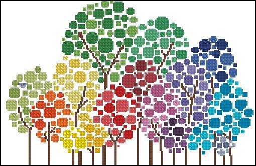 Gallery.ru / Colored trees - 2015 небесплатные - tani211