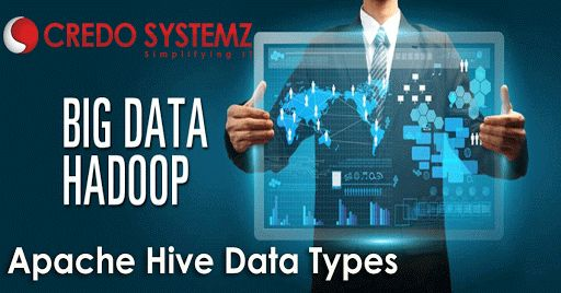 Apache Hive Data Types - Must Read #apachehivedatatypes #apachehive #Hadooptraining #apachehivequeries #apachehadoop #CredoSystemz Read More- http://www.besthadooptraining.in/blog/apache-hive-data-types/