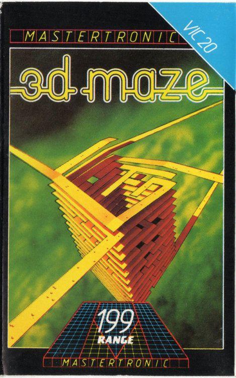 mingos-commodorepage: 3D Maze (VIC-20) Genre:...