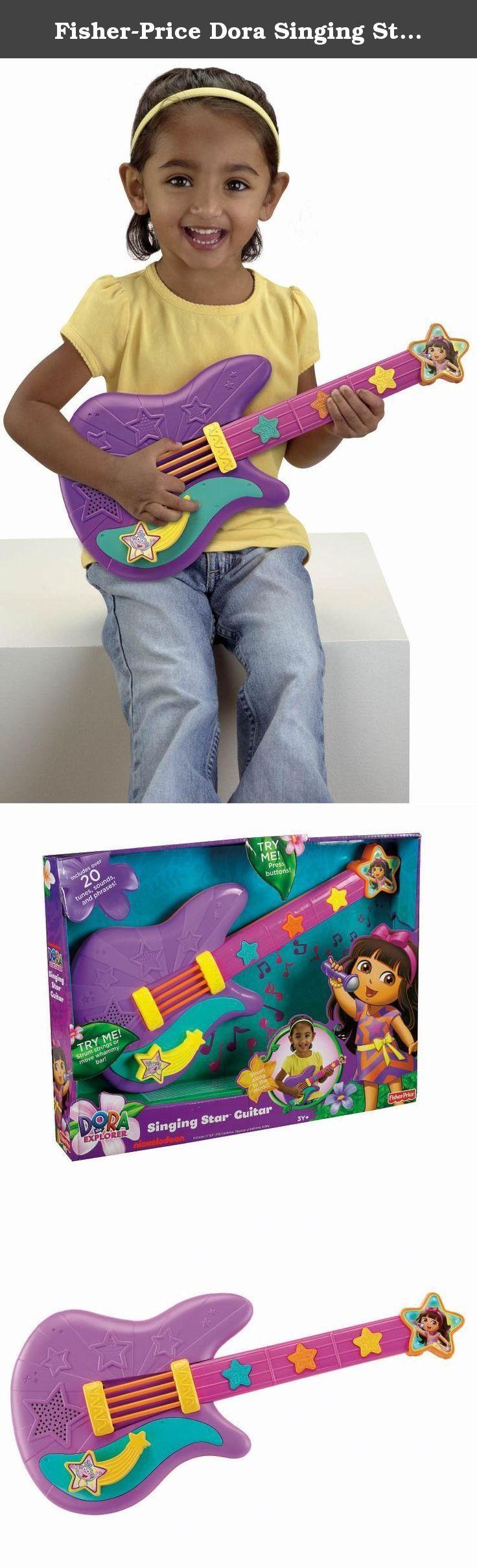 Fisher-Price Dora Singing Star Guitar. Fisher-Price Dora Singing Star Guitar.