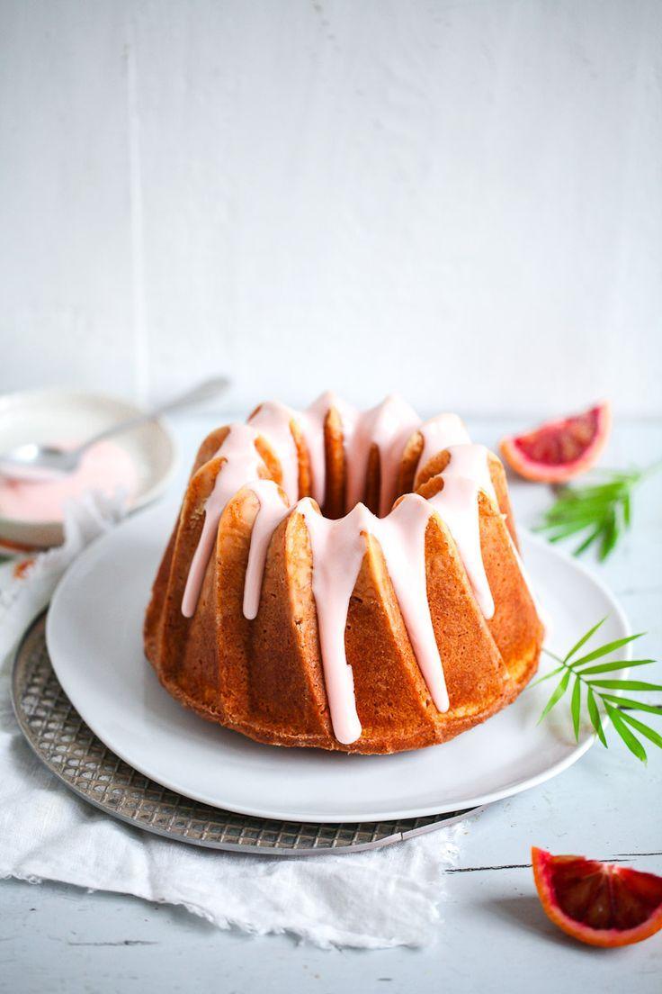... blood orange buttermilk bundt cake ...
