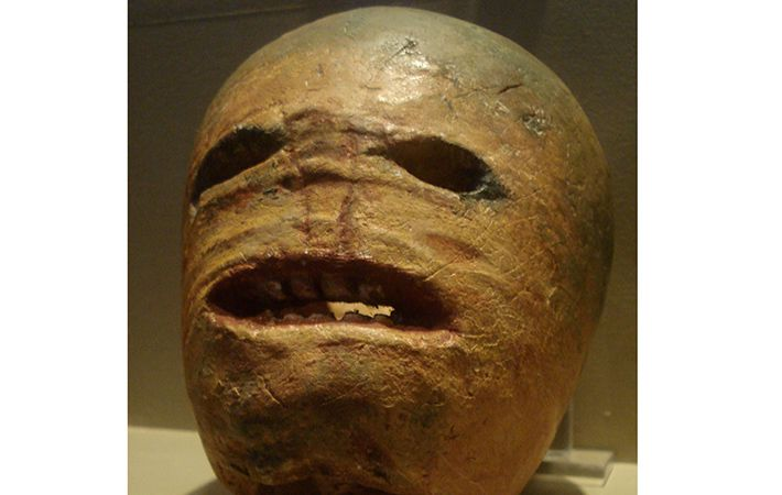 Named for Jack O'Lantern of the Irish myth, these carved out turnips and beets were actually pretty scary.