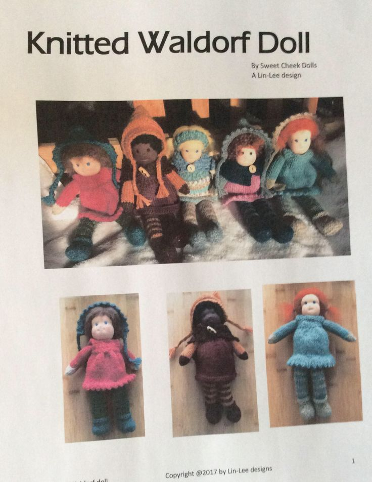 Still time to make for Christmas, check out pattern on my #etsy shop: Knitted Waldorf Doll Patternn