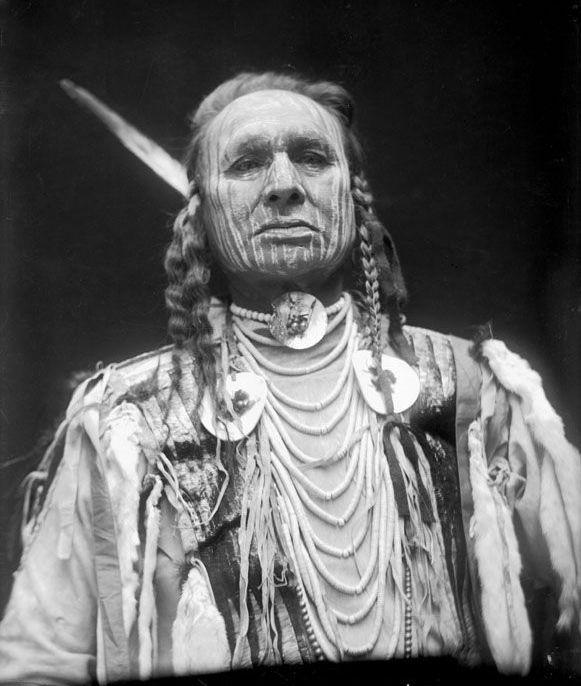 American Indians : White Man Runs Him - Crow 1912.
