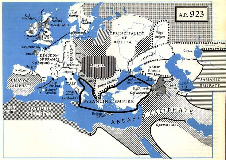 AD 923-The Byzantine Empire and the Fatimid and Abbasid Caliphates