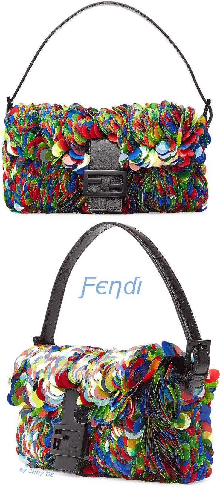 Emmy DE * Fendi Embellished Baguette Bag 2015