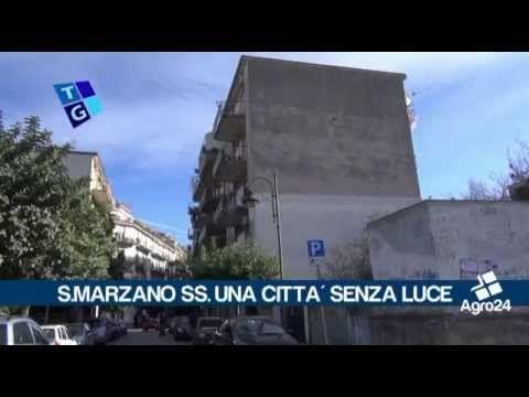 San Marzano sul Sarno. Salerno. Occhio alla pubblica illuminazione