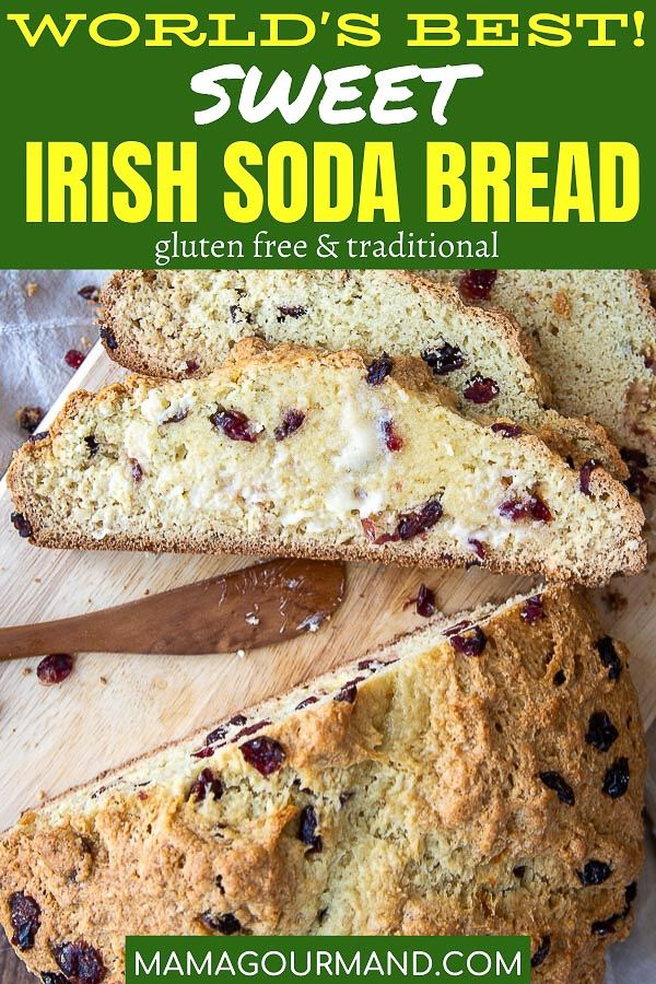 Sweet Irish Soda Bread Recipe Soda Bread Best Bread Recipe Food Recipes