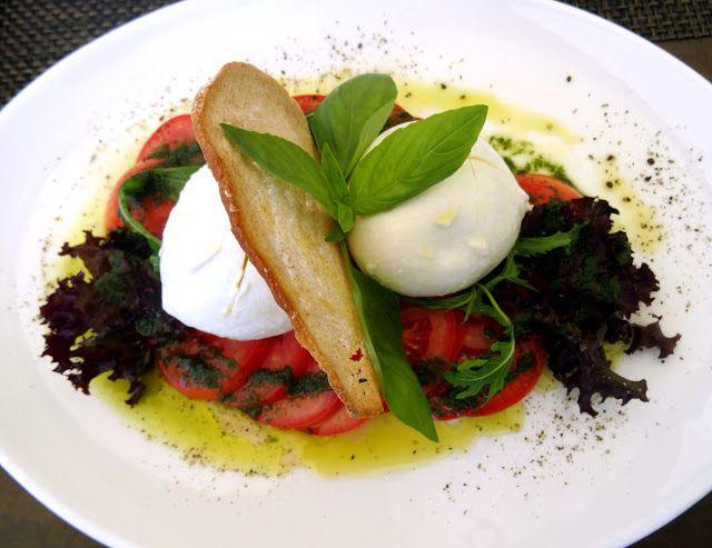 Buffalo Mozzarella Salad at UTO Kulm Restaurant Allegra in Uetliberg