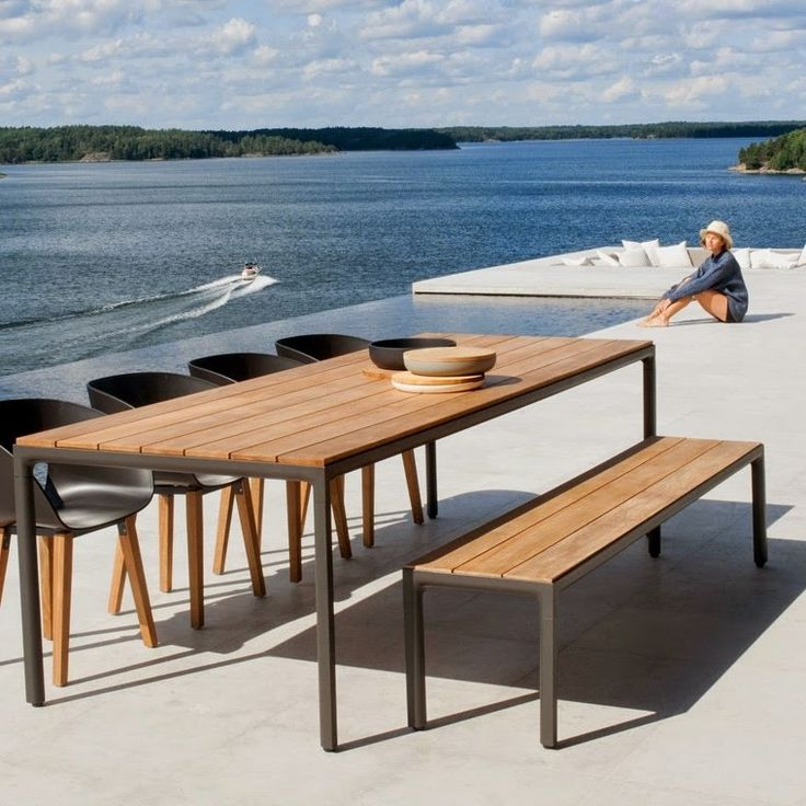 The Illum Garden Dining Table Is Part Of A Collection Designed By Merckx U0026  Maes For Tribu, A High End Outdoor Furniture Brand From Belgium. Part 37