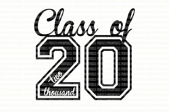 Class+of+2020+SVG+Printable+Clipart+Graduation+Cut+File ...